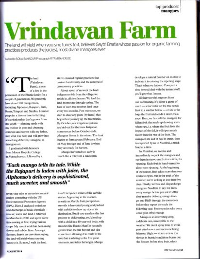 BBC Good Food: Top Producer: Vrindavan Farm