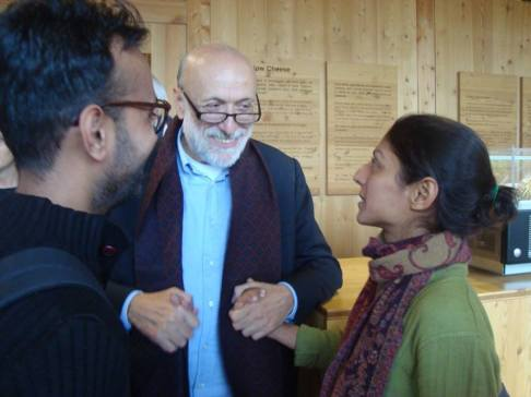 Meeting with Carlo Petrini