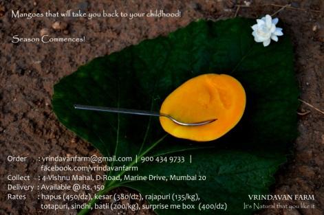 Vrindavan Farm, Farmers Tree, mango, natural, organic, alphonso, sindhu